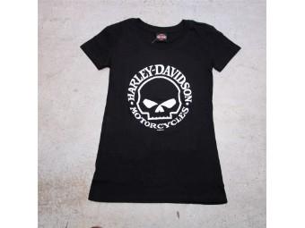 HD Ladies T-Shirt - W G Skull