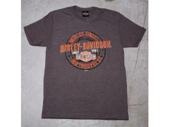 HD T-Shirt - Grunge Coin