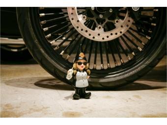 Female Mechanic Gnome - 21 cm