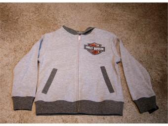 Knit Hooded Zip Jacket
