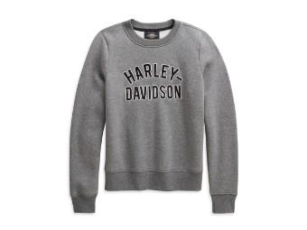 Appliqué Pullover Sweatshirt