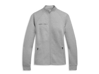 Mockneck Zip Front Active Jacket