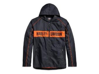 Men's Hooded Stripe Jacket