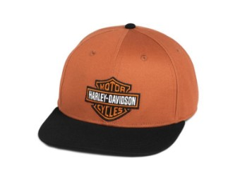CAP WOVEN - ORANGE