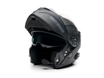 Outrush R Modular Bluetooth Helmet - Schwarz