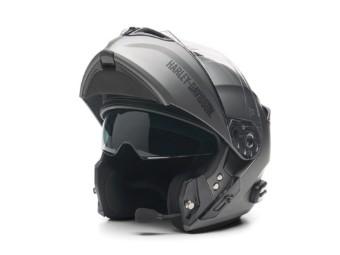 Outrush R Modular Bluetooth Helmet - Silber