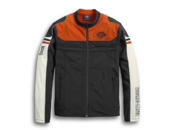 Men's Colorblock Soft Shell Jacket
