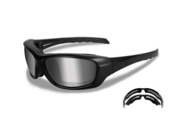 HD GRAVITY PPZ Grey Silver Flash lens / Matte Black frame
