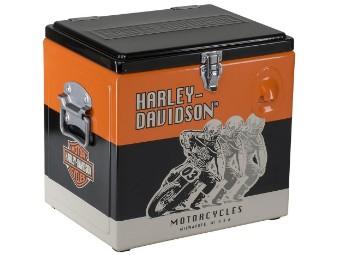 Harley-Davidson™ Racing 15 Liter Retro Metal Cooler