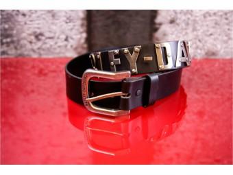 Man Belt Metal Font