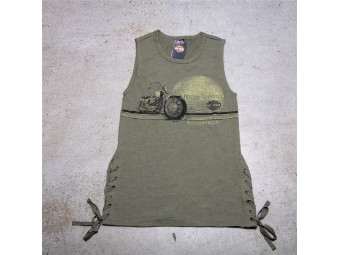 HD Ladies Tank - Retro Up