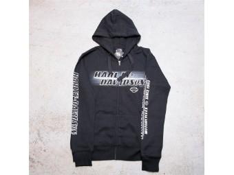 HD Ladies Zip with Hood - Name Line