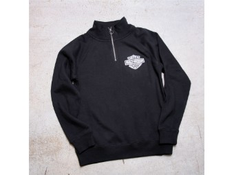 HD Ladies Sweatshirt - Twill Logo