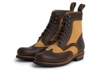 Frisco Brogue Boot Ltd. Brown/Beige