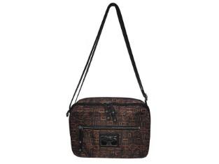 OrgBlk Silky Shoulder Bag