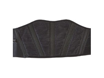 Nierengurt Textil schwarz