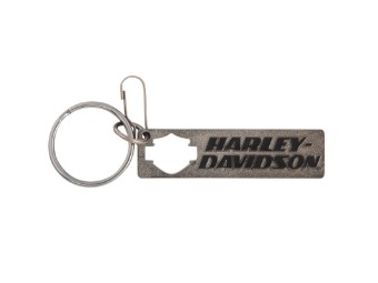 Key Chain Metal-Haley Silhouette Kno ck Out