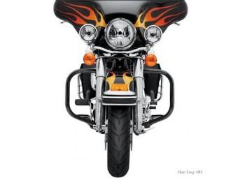 GLOSS BLACK ENGINE GUARD KIT,