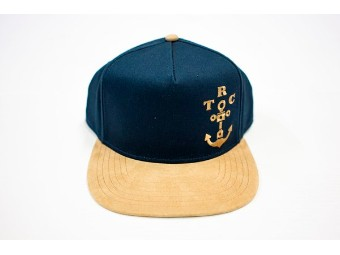 TRC Anchor Snapback navy/sand
