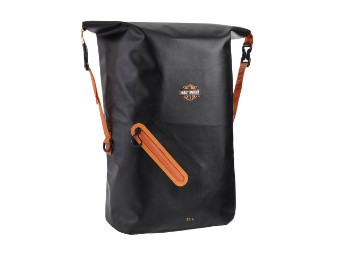 Waterproof Backpack Rust/Black