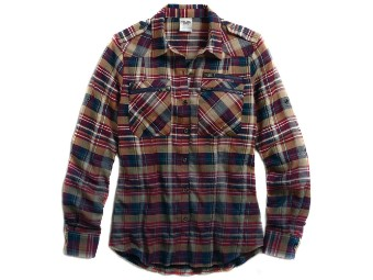 SHIRT-DIP/DYED,PLAID