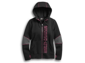 HOODIE-4 WAY STRETCH,DOUBLE KN