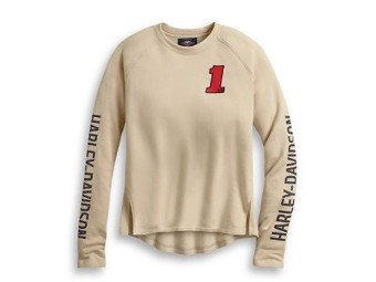 PULLOVER-HD ONE,L/S,KNT,OFF WH