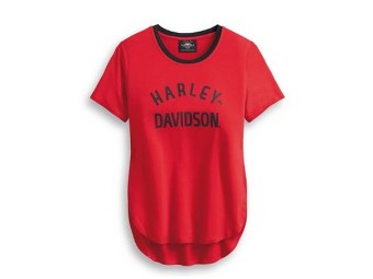 TEE-HD ONE,S/S,KNT,RED