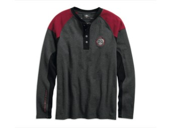 HENLEY-EAGLE PROF,L/S,KNT,GRY,