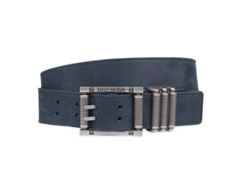 BELT-BL,LEATHER,TEXTURED,KEEPE