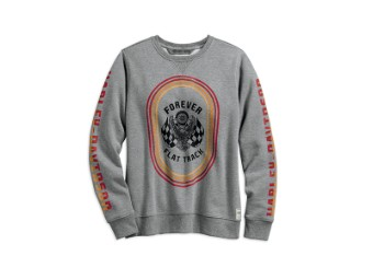 SWEATSHIRT-4EVER FLAT TRACK,L/