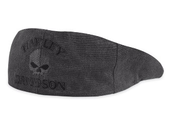 HAT-IVY CAP,COTTON SKULL