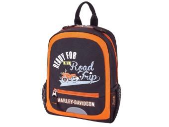 Mini Backpack-Rust/Black
