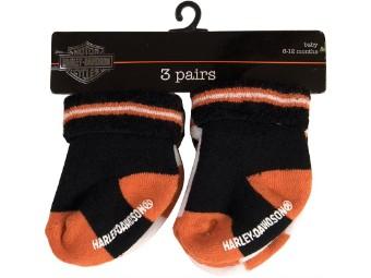 Boys 3 Pack Socks