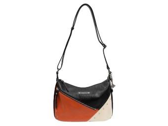 ColorBlock Diagonal Shoulder Bag