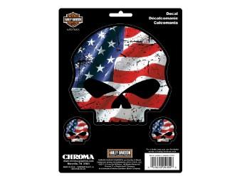Chroma HD Skull/Flag