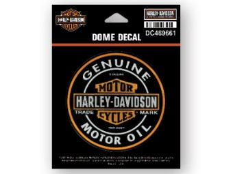 Dome Decal, Motor Oil