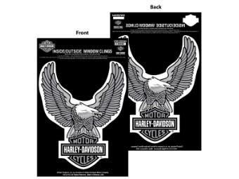 Window Cling Sheet Upwing Eagle