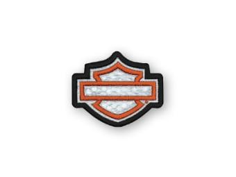 Emblem, Blak Bar&Shield, Reflective