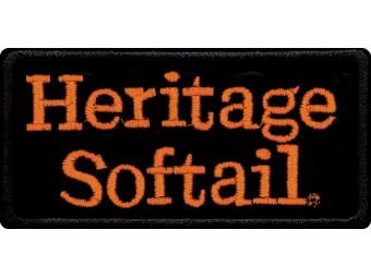Emblem, Heritage Softail, SM, 4 W x