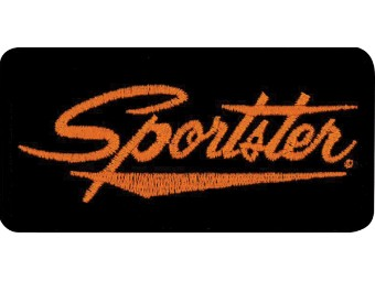 Emblem, Sportster, SM, 4 W x 2 H