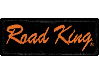 Emblem, Road King, SM, 4 W x 2 H