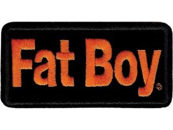 Emblem, Fatboy, SM, 4 W x 2 H