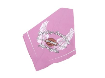 Pet Bandanna - Pink Wings