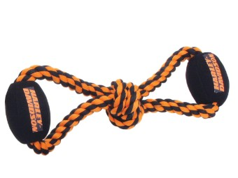 Pet-Plush Rope Tug Toy-Ball
