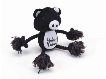 Pet-Plush Rope Tug Toy-Pig