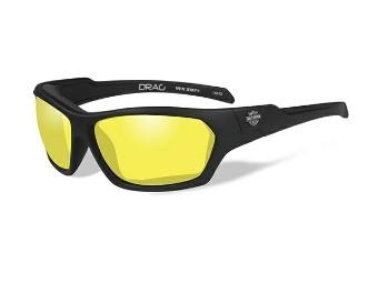 HD DRAG Yellow Matte Black Frame