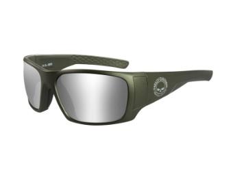 HD Keys Grey Silver Flash Matte Utility Green Frame