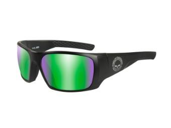 HD Keys Green Mirror Matte Black Frame