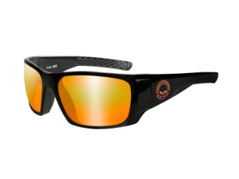 HD Keys Orange Mirror Gloss Black Frame
